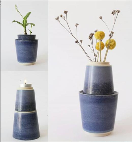 Le combinable, vase soliflore, bougeoir … - Clotilde Debain céramique